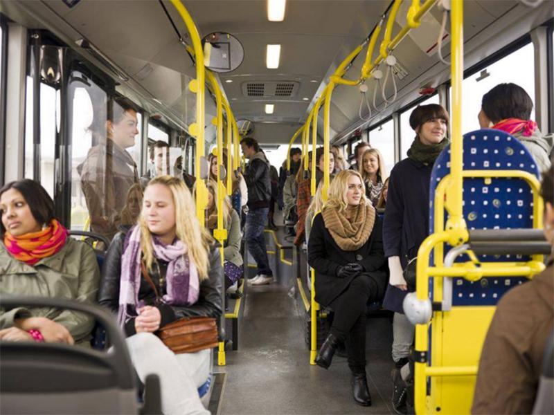 Пассажирские автобусы в Геническе вымирают, как мамонты