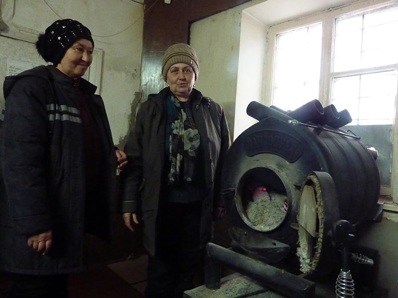 Сельчан на Херсонщине согревают женщины на почте