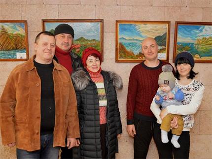 У Херсоні проходить виставка живопису Сергія Покровського