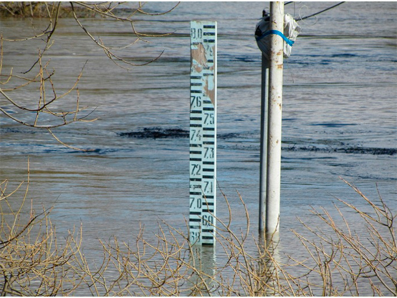 Угроза паводка в Херсоне отступает