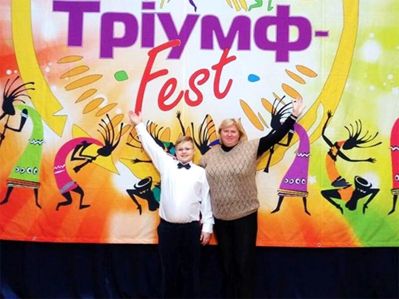 Херсонского музыканта наградили в столице