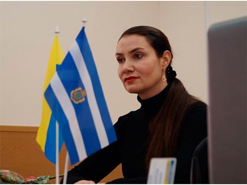 Олена Урсуленко: Херсонці звертаються з різноплановими питаннями