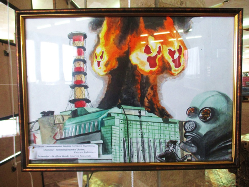 У Херсоні відкрилася виставка, присвячена Чорнобильській катастрофі