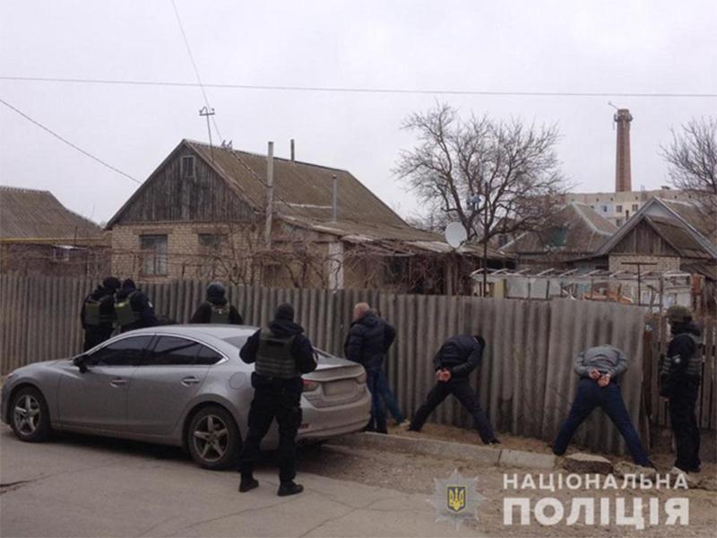 На Херсонщині поліцейські затримали злочинну групу гастролерів-квартирників
