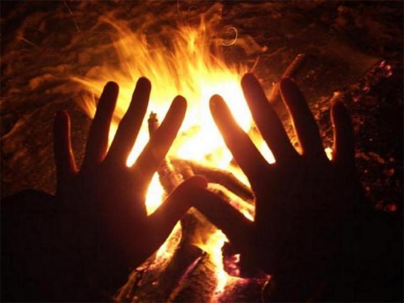 На Херсонщине  в пожаре сгорел человек
