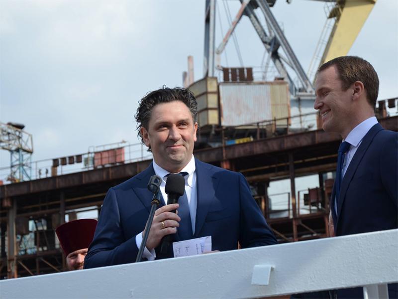 Владелец VEKA Group BV Питер Верслуис: «Нам интересно работать с украинскими подрядчиками в направлении производства сложных судов»
