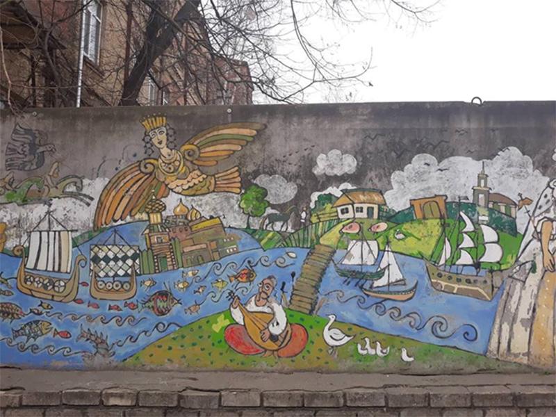 В Херсоне полиция разыскивает художников