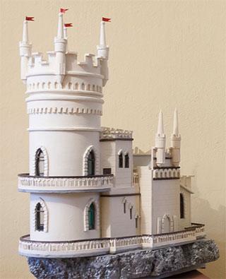 Кримський замок «Ластівчине гніздо» зроблено на Херсонщині