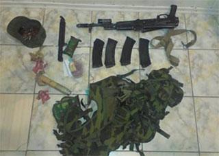 На территории Херсонщины задержали пьяного российского солдата