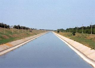 Крым продолжает осуществлять несанкционированный забор воды из Северо-Крымского каналаl