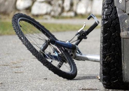 В Каховке сбили велосипедистку