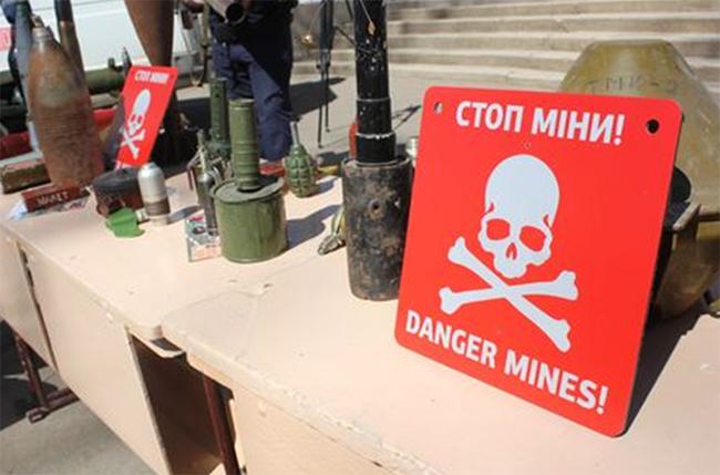 Картинки по запросу Міжнародним днем просвіти з питань мінної небезпеки