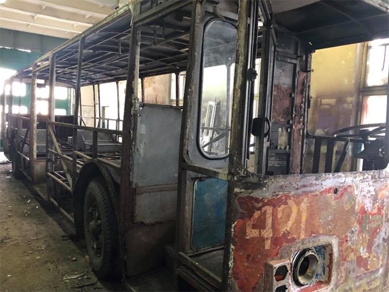 В Херсоне будет памятник трудяге-троллейбусу