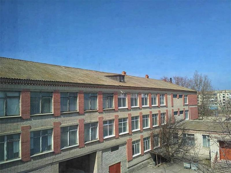 Генической школе починят крышу