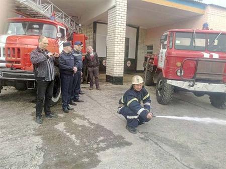 Херсонщиною зацікавилася міжнародна пожежна місія