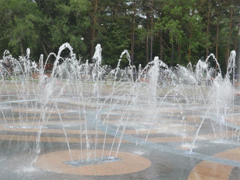 Пішохідний фонтан запрацює до Дня міста в Херсоні