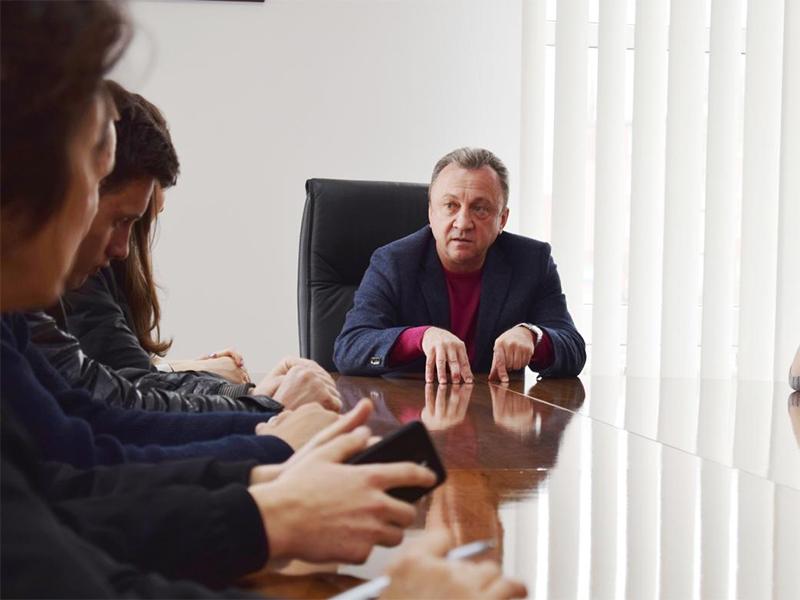 Представники Студентської ради спілкувалися з директором Херсонського обласного центру зайнятості