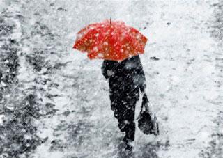 7-9 лютого на Херсонщину повернеться дощова та сніжна погода
