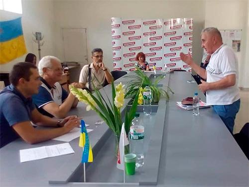 Про роботу громадської приймальні Олександра Співаковського