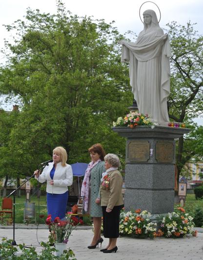 В Херсоне отметили пятилетие Покровского сквера