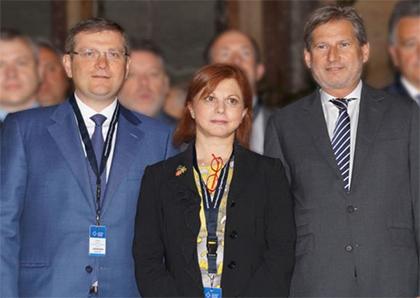 А.Вилкул в Брюсселе встретился с еврокомиссаром по региональному развитию и Президентом АЕР