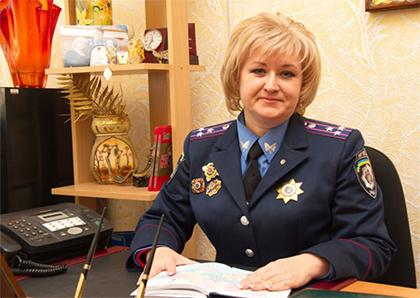 Полковник милиции добилась справедливости в суде