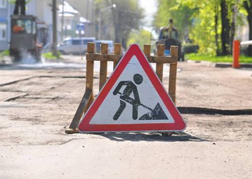 В Херсоне продолжают «ямочный» ремонт дорог