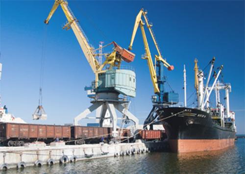 Порт работает на экспорт