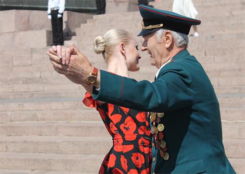 Херсонцы празднуют День Победы