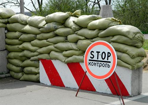 Военный пострадал в аварии у блокпоста на Херсонщине