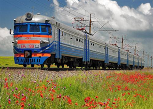 Херсонцы запустили поезд