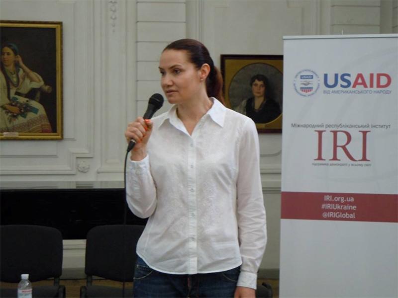 Олена Урсуленко: Подолати кризу можна шляхом взаємодії влади, бізнесу і громади