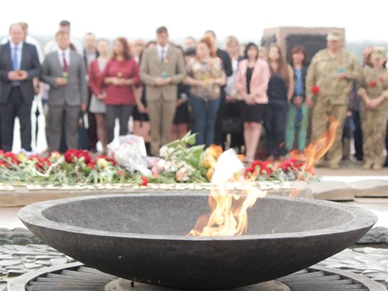 У Херсоні молилися за душі загиблих на війні