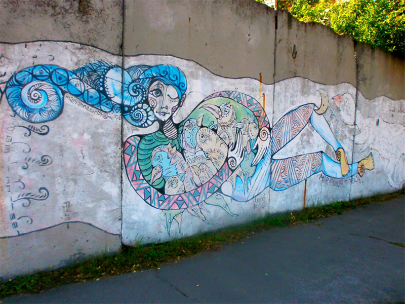 Расписные стены Херсона