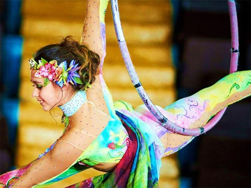 Херсонская циркачка признана одной из лучших на Международном фестивале в Одессе