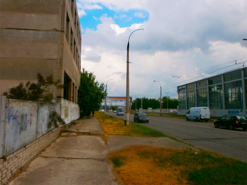 Застывшая недвижимость Херсона