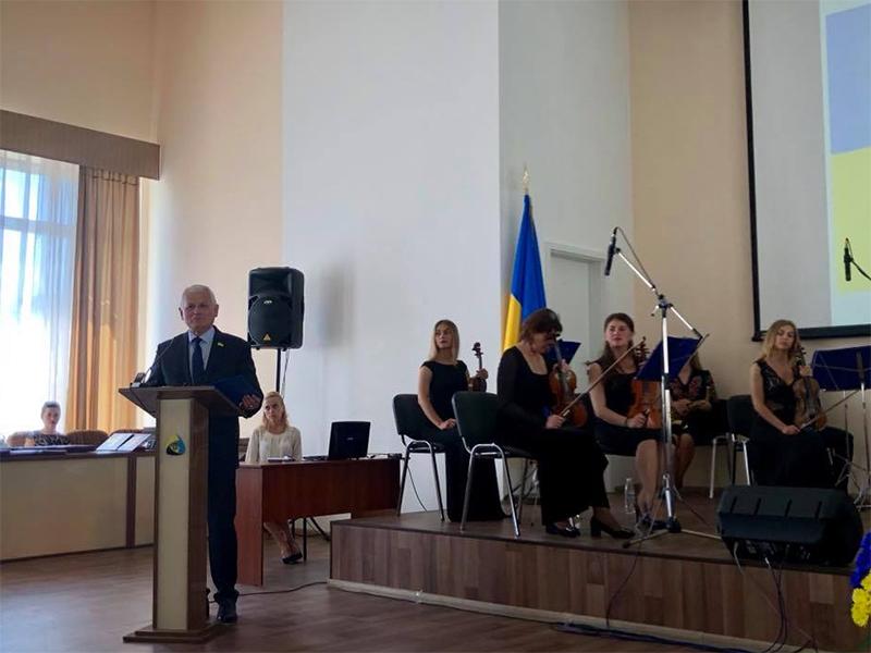 Олександр Співаковський: хай живе освіта і наука в Україні