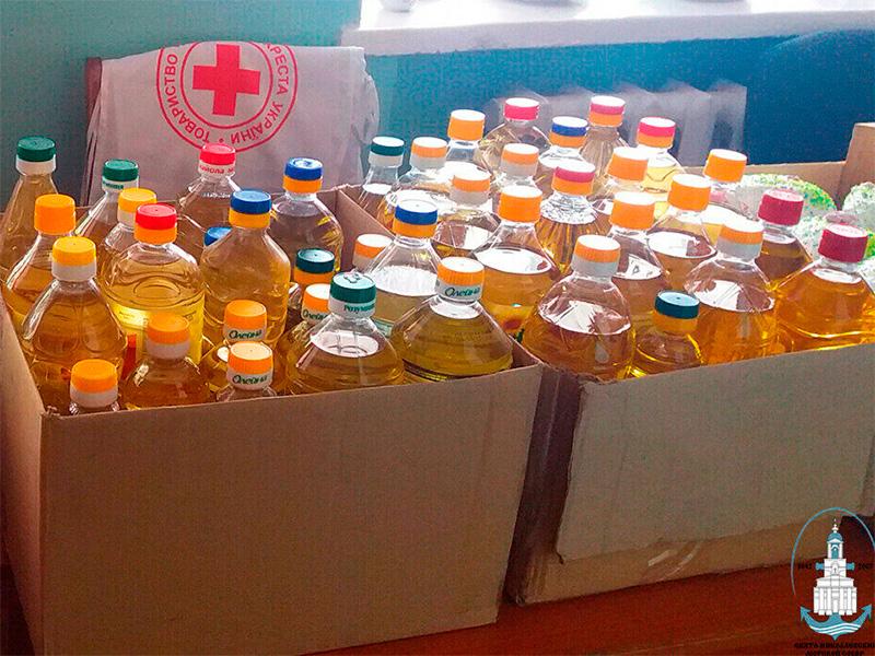 В Херсоне Церковь собирает гуманитарную помощь