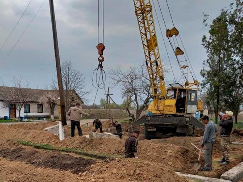 На Херсонщині будують сільську амбулаторію сімейного типу