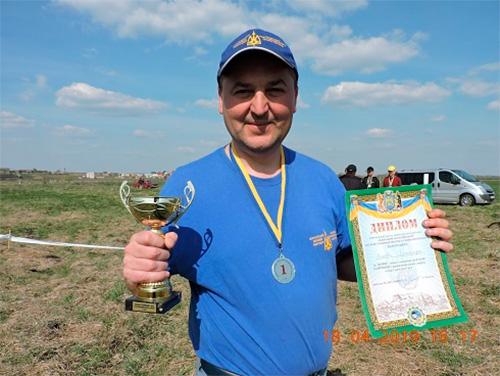 Херсонець виборов перше місце у змаганнях на Кубок Галичини з ракетомодельного спорту
