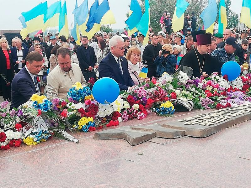 Олександр Співаковський: Через єднання та історичну пам'ять ми повинні забезпечити мир
