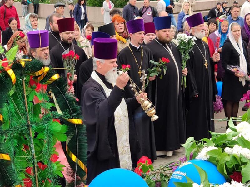 В Херсоне помолились за погибших на войне