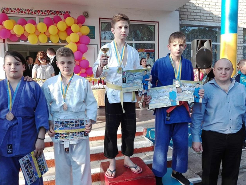 Херсонці посіли призові місця на Відкритому турнірі з дзюдо