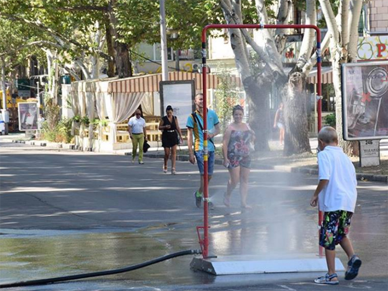Уличный душ предлагают установить у херсонских рынков