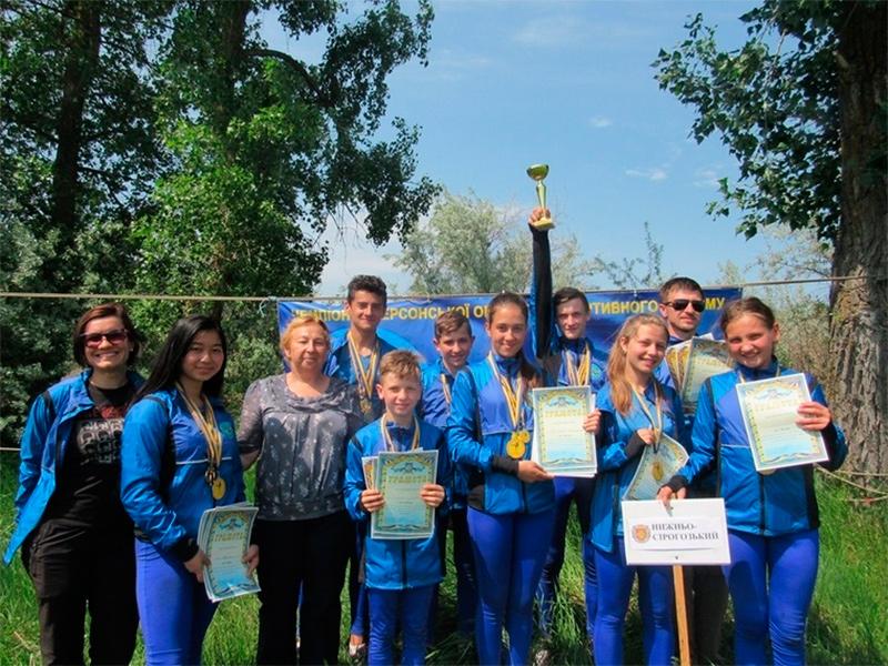 Відбулись змагання з пішохідного туризму на Херсонщині
