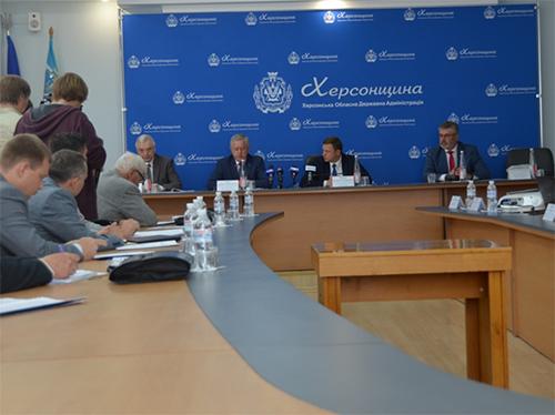 На Херсонщині зустрічали литовських підприємців та науковців