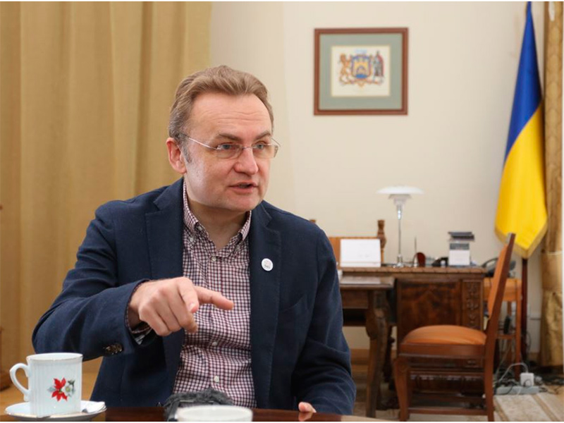 """Садовой возглавит список """"Самопомощи"""" на выборах"""