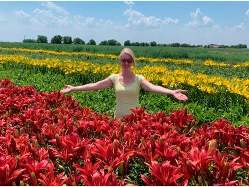 Квітковий оазис на Херсонщині