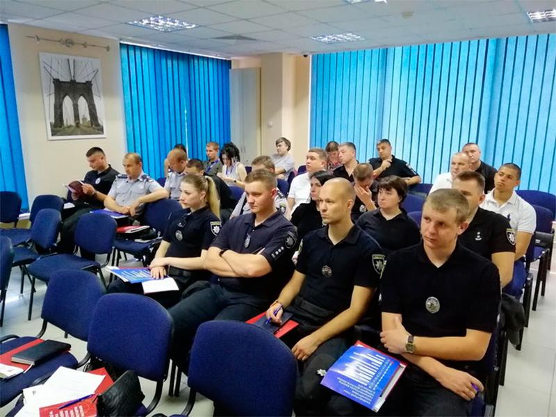 ОПОРА провела навчання для херсонських поліцейських