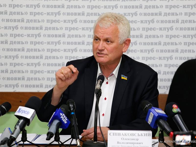 Депутат міськради Михайло Лінецький визнав, що Олександр Співаковський є ефективним народним депутатом